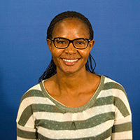 PhD student Esther Kamau